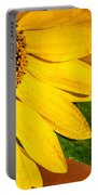 Sun-kissed Sunflower Portable Battery Charger