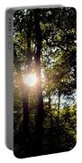 Sun Kissed Trees Portable Battery Charger