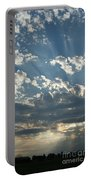 Sun Rays Through The Clouds   # Portable Battery Charger