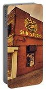 Sun Studios Memphis  Portable Battery Charger