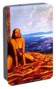 Sun Woman Portable Battery Charger