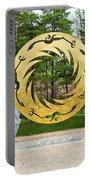 Sunbird Sculpture, Chengdu, China Portable Battery Charger