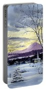 Sunday In Winter Portable Battery Charger