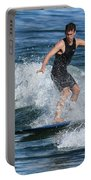 Sunday Morning Surfing Portable Battery Charger