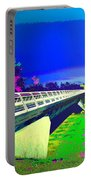 Sundial Bridge Redding  Ca Digitally Painted Portable Battery Charger
