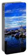 Sundown In Sag Harbor Portable Battery Charger