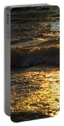 Sundown Shimmer On The Waves Portable Battery Charger