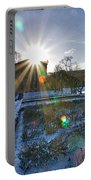 Sunflare At The Back Portable Battery Charger