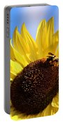 Sunflower And Bee-3879 Portable Battery Charger