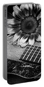 Sunflower And Guitar Portable Battery Charger