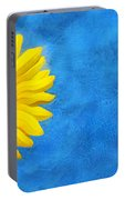 Sunflower Art Portable Battery Charger