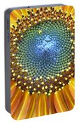 Sunflower Center Portable Battery Charger