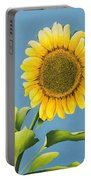 Sunflower Charm Portable Battery Charger