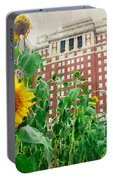 Sunflower City Portable Battery Charger