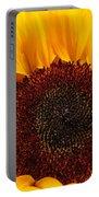 Sunflower Closeup Portable Battery Charger