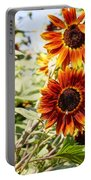 Sunflower Cluster Portable Battery Charger