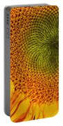 Sunflower Digital Painting Portable Battery Charger