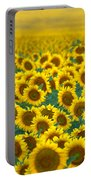 Sunflower Explosion Portable Battery Charger