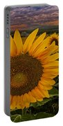 Sunflower Field Forever Portable Battery Charger