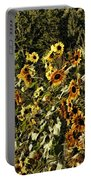 Sunflower Fields Forever Portable Battery Charger