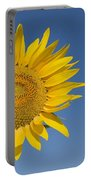 Sunflower, Helianthus Annuus Portable Battery Charger