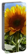 Sunflower Highlight Portable Battery Charger by Kerri Mortenson