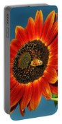 Sunflower Honey Bee Portable Battery Charger