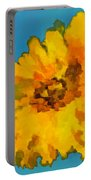 Sunflower Illusion Portable Battery Charger