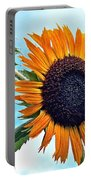 Sunflower In The Sky Portable Battery Charger