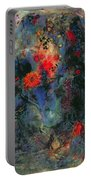 Sunflower Portable Battery Charger by Jane Deakin