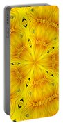 Sunflower Kaleidoscope 2 Portable Battery Charger