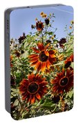 Sunflower Layers Portable Battery Charger