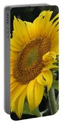 Sunflower Looking To The Sky Portable Battery Charger