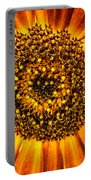 Sunflower Macro Portable Battery Charger