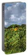 Sunflower Maze Portable Battery Charger