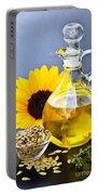 Sunflower Oil Bottle Portable Battery Charger