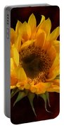 Sunflower Opening Portable Battery Charger