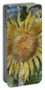 Sunflower Painting Portable Battery Charger