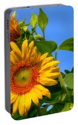 Sunflower Pair Portable Battery Charger