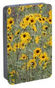 Sunflower Patch On The Hill Portable Battery Charger