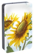 Sunflower Perspective Portable Battery Charger