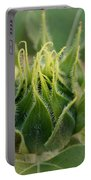 Sunflower Pod Portable Battery Charger by Kerri Mortenson