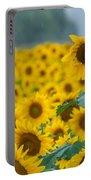 Sunflower Rain Sussex Nj Portable Battery Charger