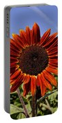 Sunflower Sky Portable Battery Charger by Kerri Mortenson