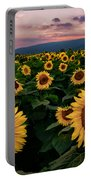 Sunflower Sunset II Portable Battery Charger