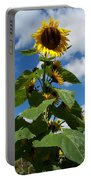 Sunflower Tall Beauty Portable Battery Charger