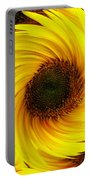 Sunflower Twirl Portable Battery Charger