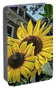 Sunflower Under The Gables Portable Battery Charger