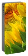 Sunflower Unfolding  Portable Battery Charger