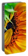 Sunflower Volunteer Good Morning Portable Battery Charger
